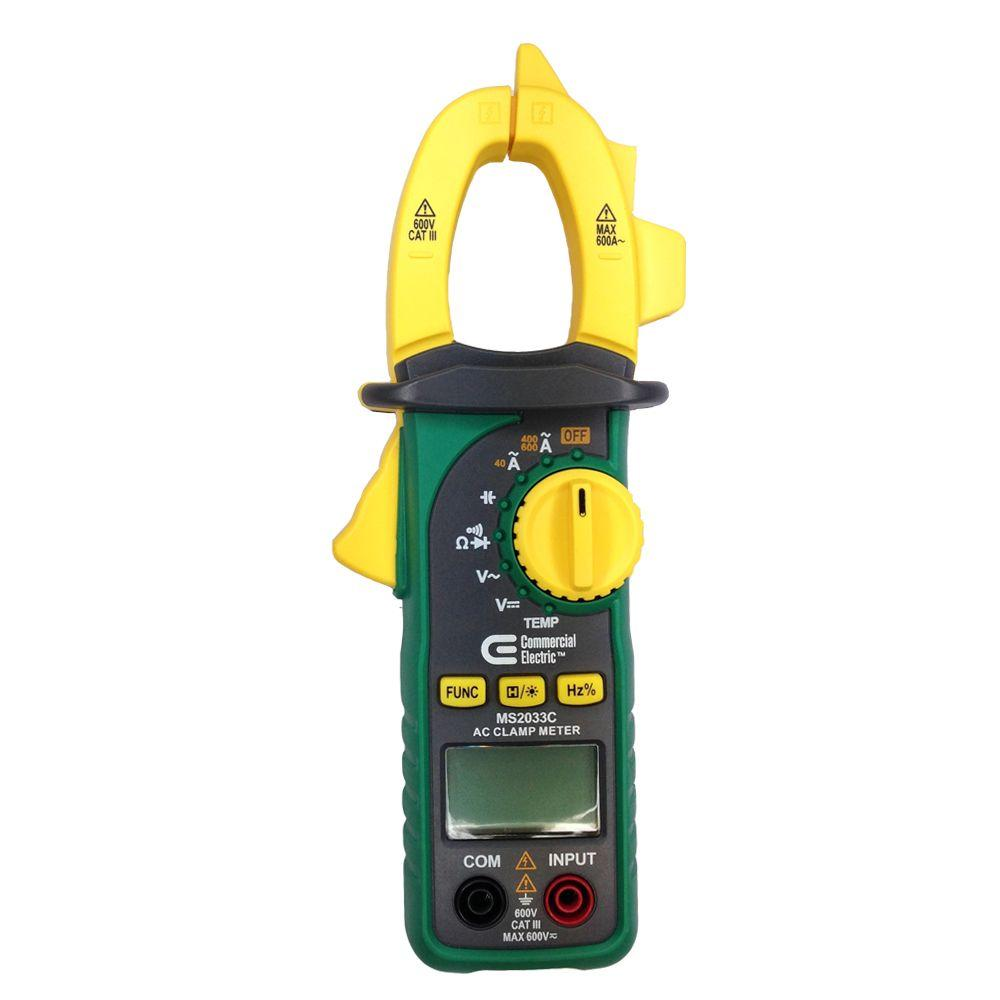 600A AC Digital Clamp Meter