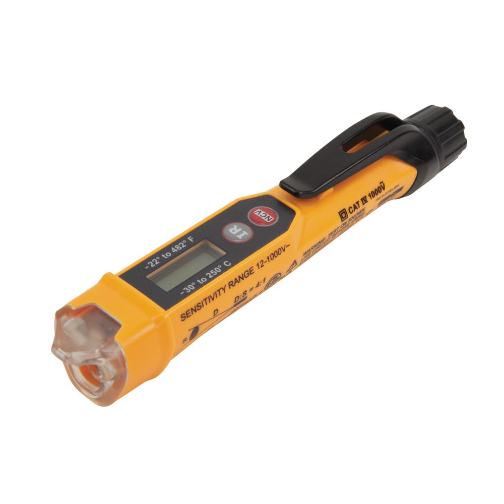 Non-Contact Voltage Tester with Infrared Thermometer