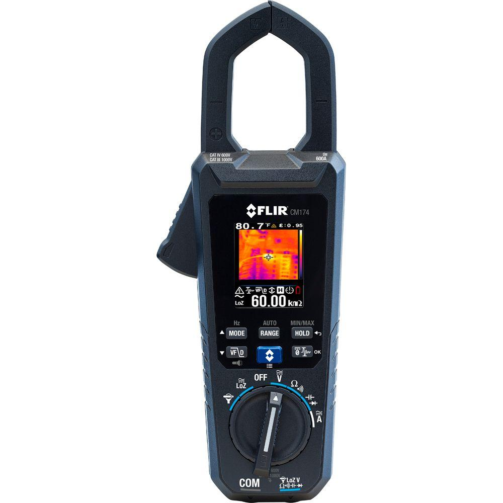 600 Amp True RMS AC/DC Clamp Meter with IGM