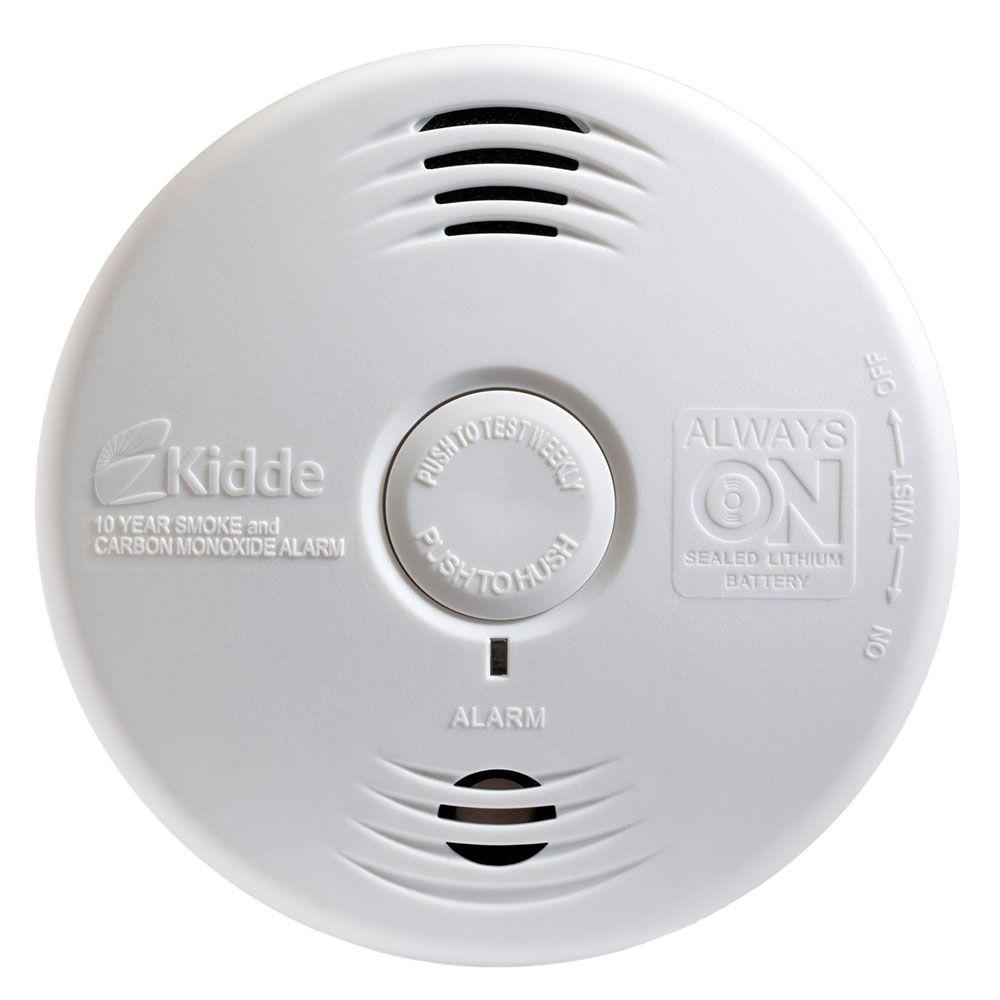 Worry Free 10-Year Sealed Battery Smoke and Carbon Monoxide Combination Detector with Voice Alarm